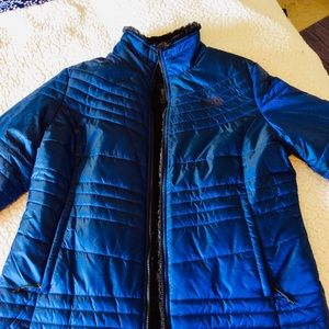 Like new Reversible North Face Jacket